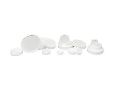 Pulp/Vinyl Lined Polypropylene Caps