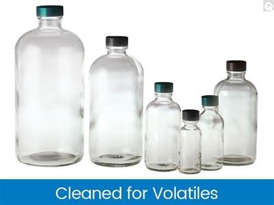 Cleaned for Volatiles - VOA Bottles