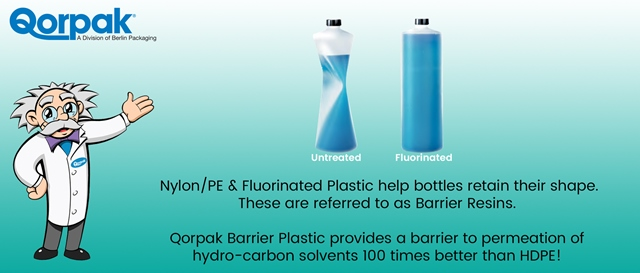 Fluorination The Solution To Plastic Bottle Panel